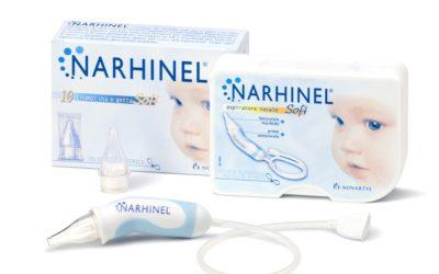 Narhinel aspiratore nasale soft (+ 2 ricambi) + 60 flaconcini fisiologica monodose da 5ml a 10,90€